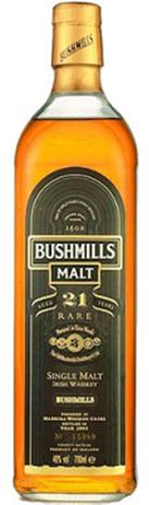 Bushmills Irish Whiskey 21 Year